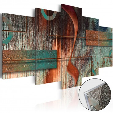 Cuadro acrílico - Cinnamon Rock [Glass]