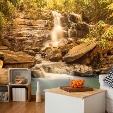 Fotomural - Sunny Waterfall