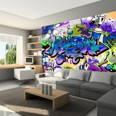 Fotomural - Grafiti: tema...