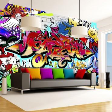 Fotomural - Street art:...