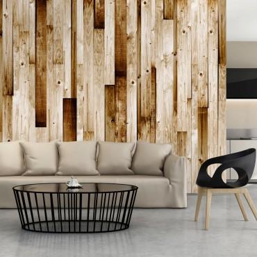 Fotomural - Tablas de madera