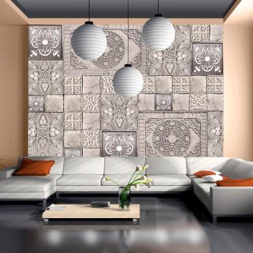 Fotomural - Azulejos de piedra