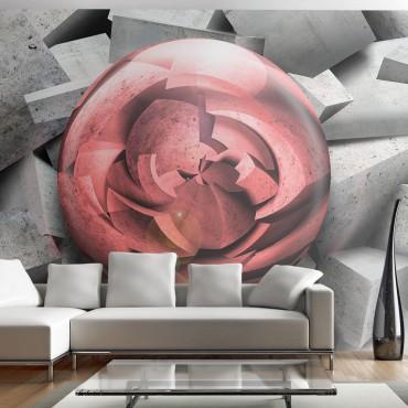 Fotomural - Rosa de piedra
