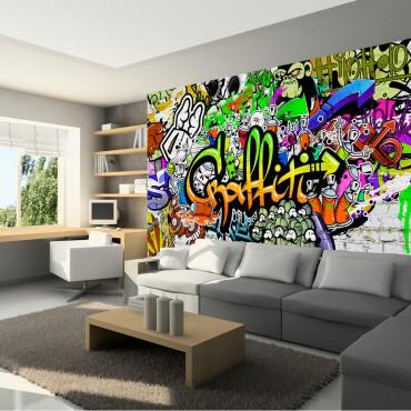 Fotomural - Graffiti on the...