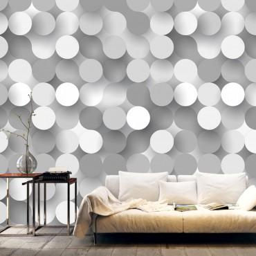 Fotomural - Silver Net