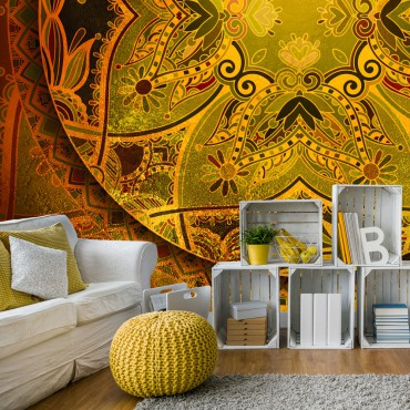 Fotomural - Mandala: Golden...