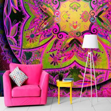 Fotomural - Mandala: Pink...