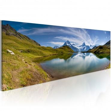 Cuadro - Mountain lake