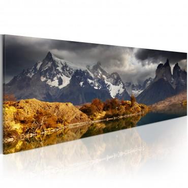 Cuadro - Mountain landscape...