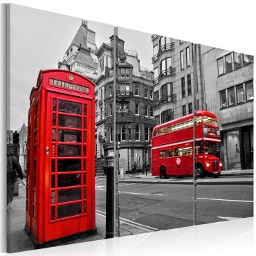 Cuadro - La vida en Londres