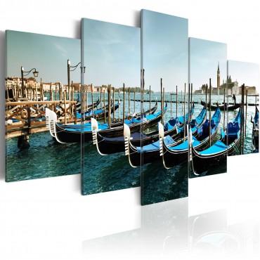 Cuadro - Un canal en Venecia