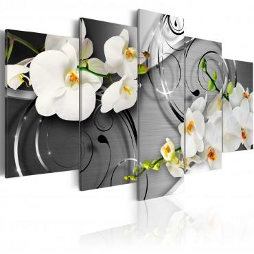 Cuadro - Orquídeas lácteas