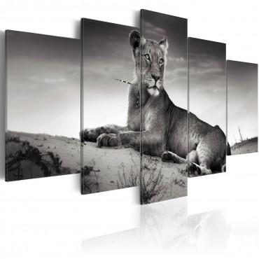 Cuadro - Una leonesa en el...