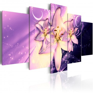 Cuadro - Purple Galaxy