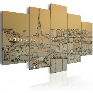 Cuadro - París en estilo...