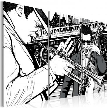 Cuadro - Concierto de jazz...