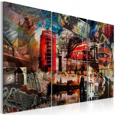 Cuadro - Londres collage -...