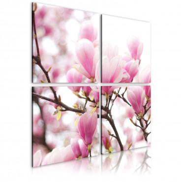 Cuadro - Árbol de magnolia...