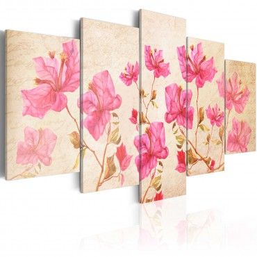 Cuadro - Flowers in Pink