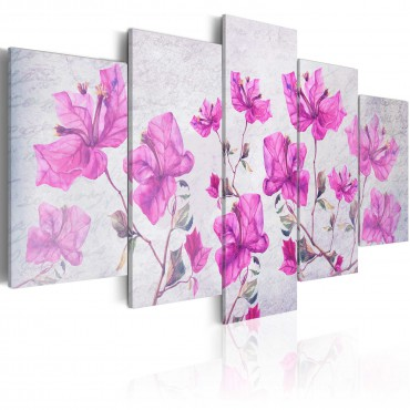 Cuadro - Purple Flowers