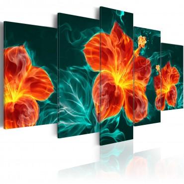 Cuadro - Flaming Lily
