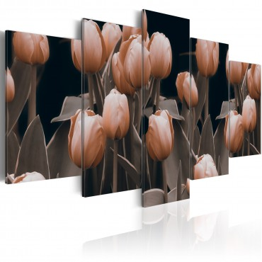 Cuadro - Tulips in sepia