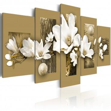 Cuadro - Jardín de magnolias