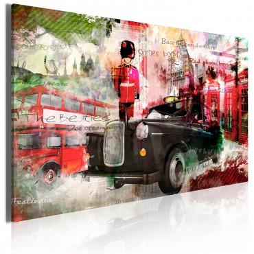 Cuadro - Memorias de Londres