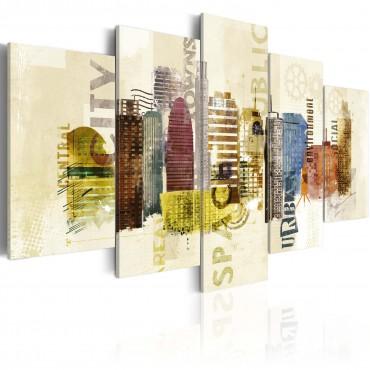 Cuadro - Diseño urbano - 5...