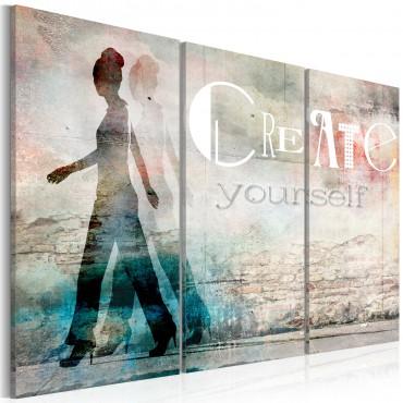 Cuadro - Create yourself -...