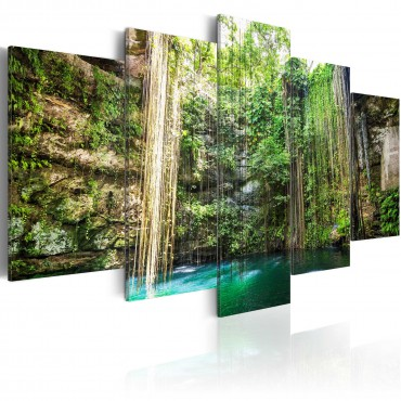 Cuadro - Waterfall of Trees