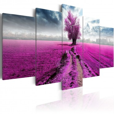 Cuadro - Purple Land