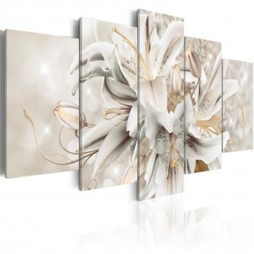 Cuadro acrílico - Silver Serenity [Glass]