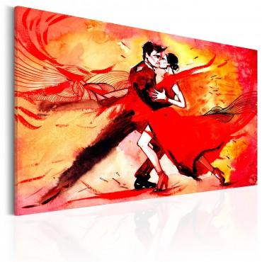Cuadro - El baile sensual