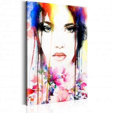 Cuadro - Colourful Lady