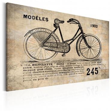 Cuadro - N° 1245 - Bicyclette