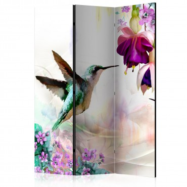 Biombo - Hummingbirds and...