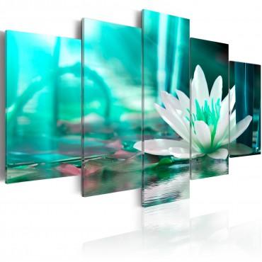 Cuadro - Turquoise Lotus