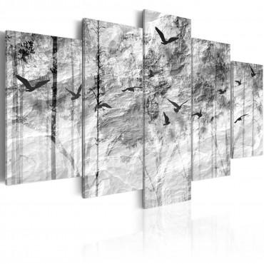 Cuadro - Memoria de papel