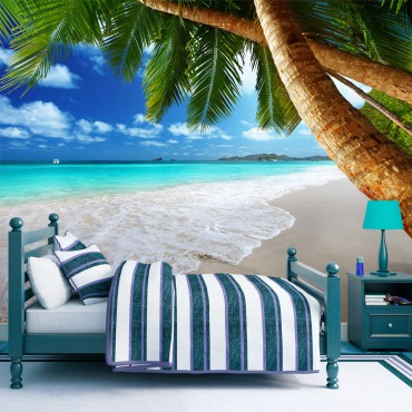 Fotomural - Isla tropical
