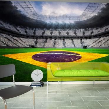 Fotomural - Estadio brasileño