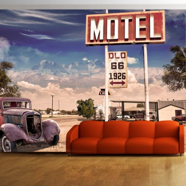 Fotomural - Old motel