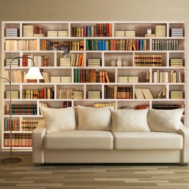 Fotomural - Biblioteca casera