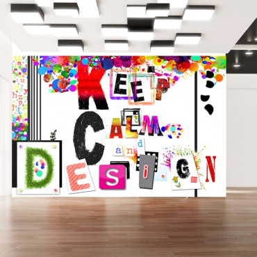 Fotomural - Keep Calm and...