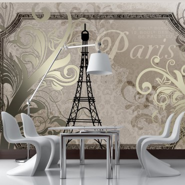 Fotomural - Paris Vintage -...