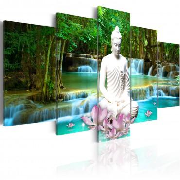 Cuadro - Zen Waterfall
