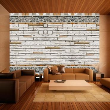 Fotomural - Mosaico de piedra