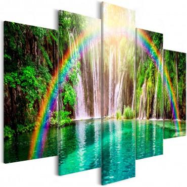 Cuadro - Rainbow Time (5...