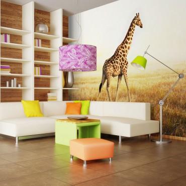 Fotomural - jirafa - paseo
