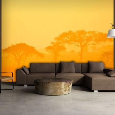 Fotomural - Orange savanna
